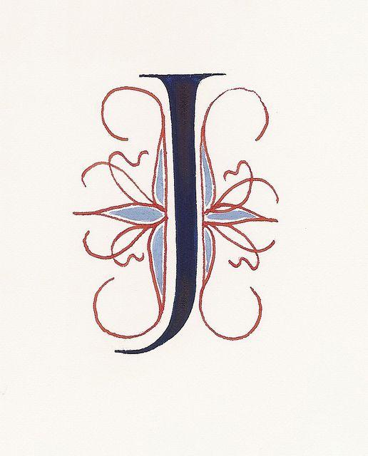 Letter J Calligraphy J Calligraphy Letter J Lettering Alphabet
