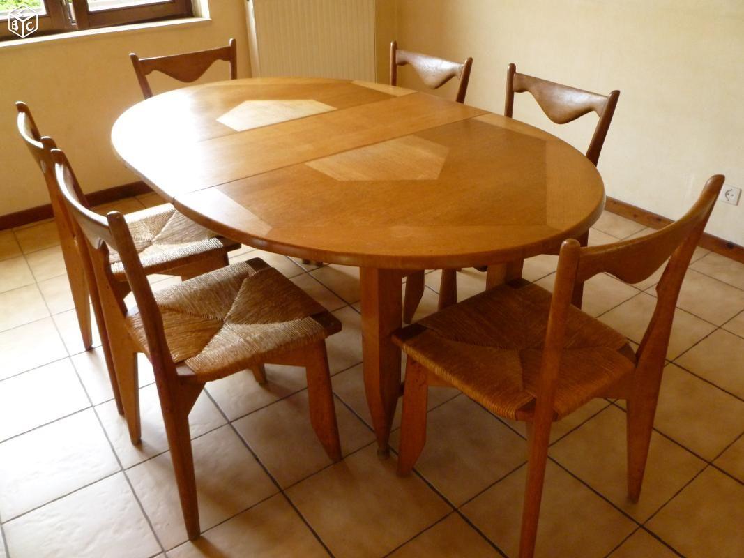 Table Et Chaises Guillerme Et Chambron Ameublement Bas Rhin Leboncoin Fr Table Et Chaises Ameublement Table