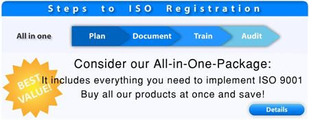 iso 9001 all in one package