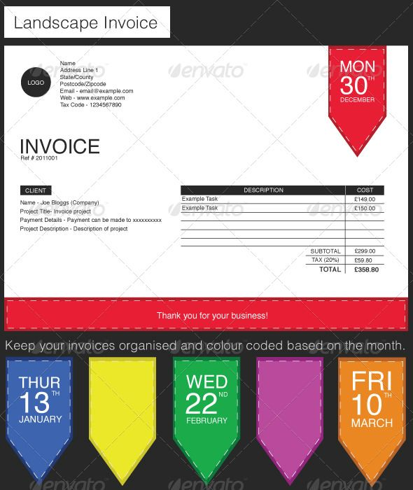 label style invoice | fonts, invoice template and texts, Invoice examples