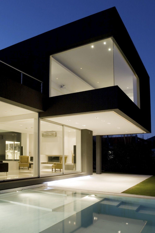 Casa negra andres remy arquitectos dise o arquitectura - Casas arquitectura moderna ...