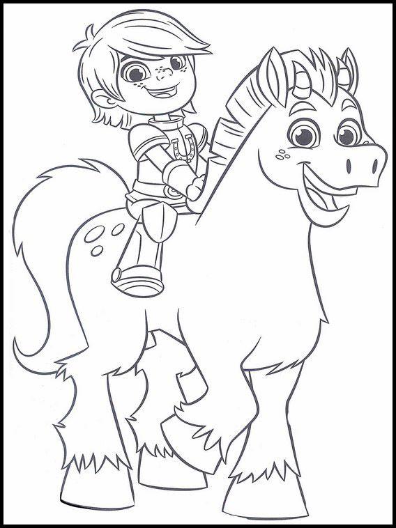 Desenhos para pintar Nella, Uma Princesa Corajosa2 em 2020 ...