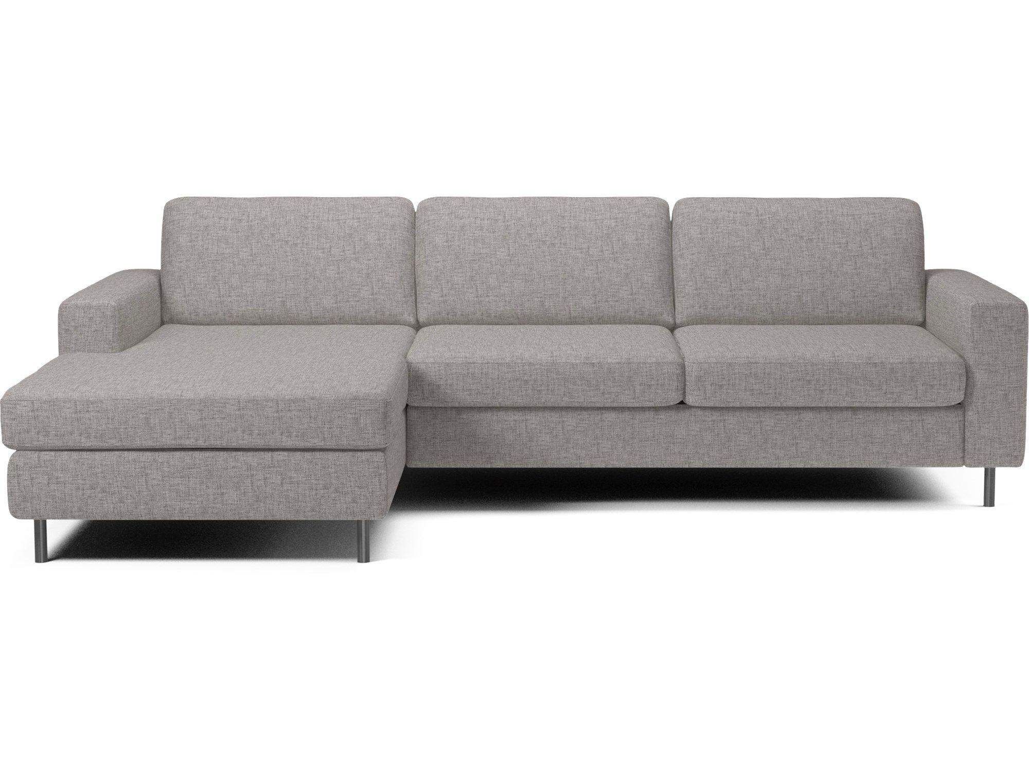 Scandinavia 3 pers. sofa med Sjeselong venstre Glismand ...
