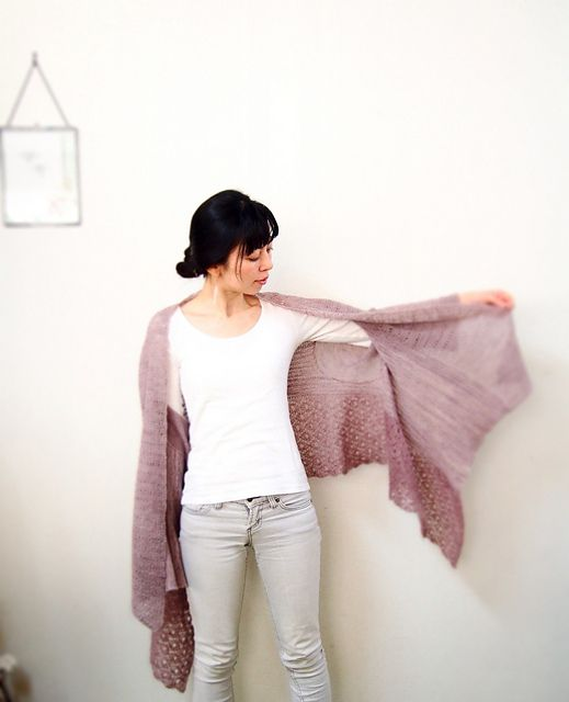 Ravelry: eritml's Village Sweater Wrap by Rosemary (Romi) Hill