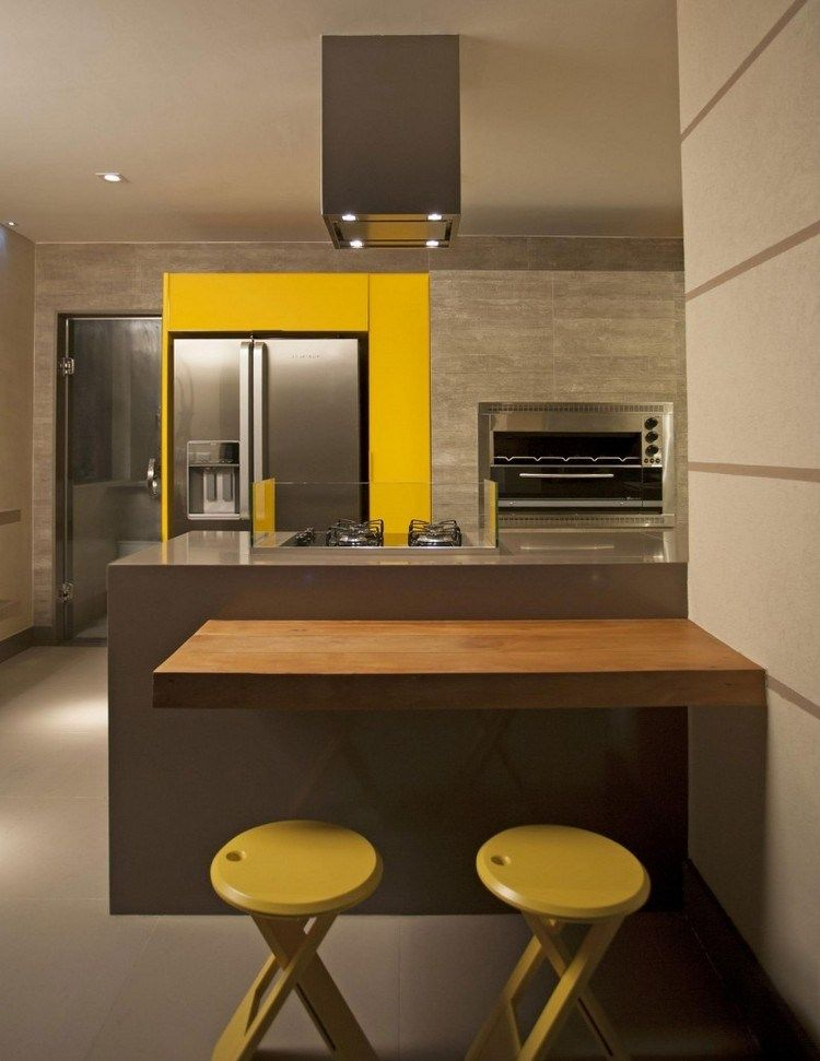 couleur pour cuisine – 105 idées de peinture murale et façade | cafes