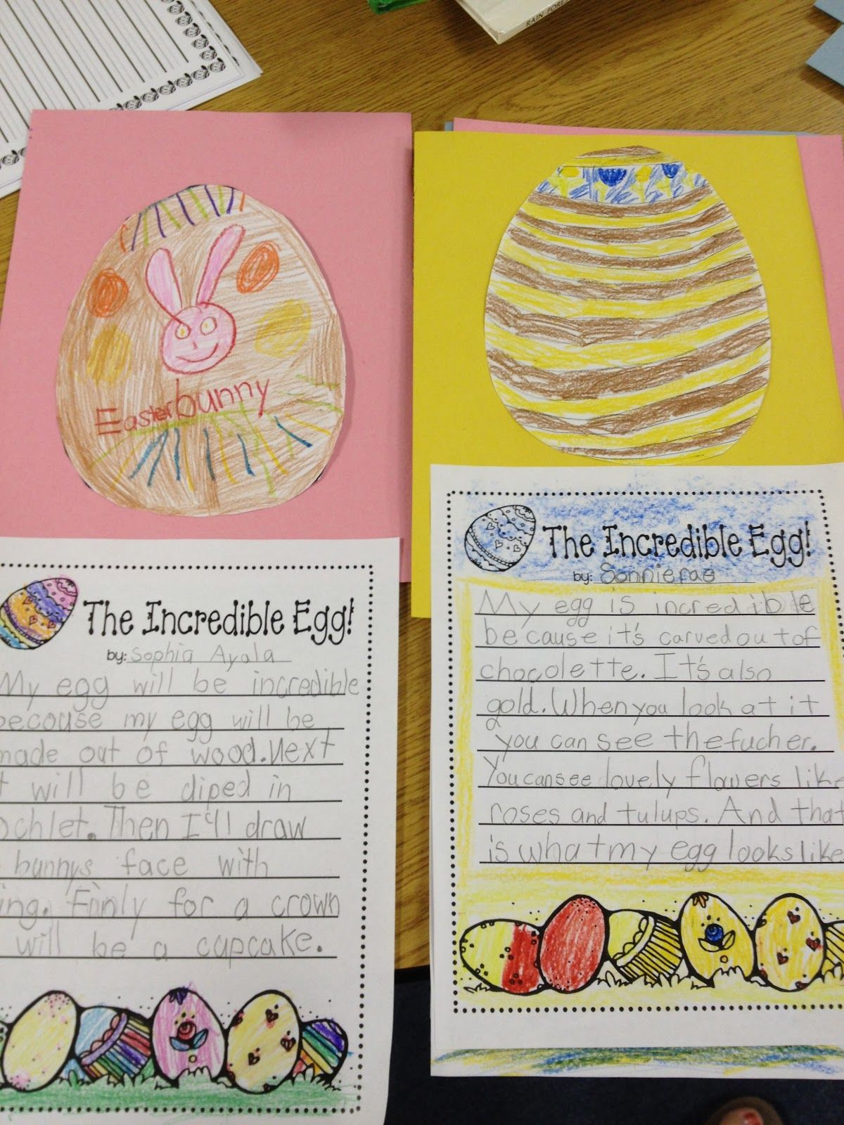 I Saw A Cute Activity For Easter Writing And