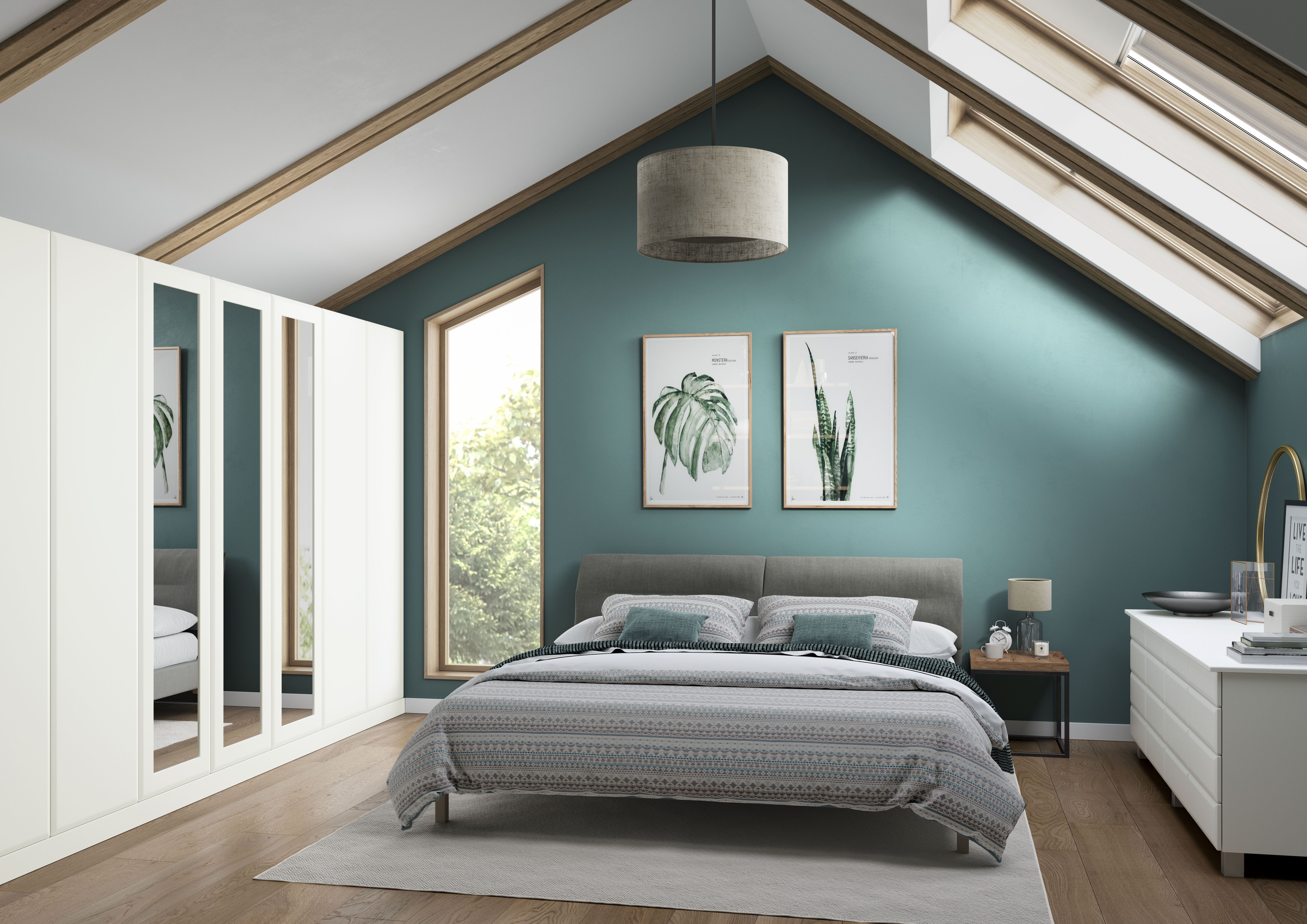 Valencia White Fitted bedrooms, Luxurious bedrooms