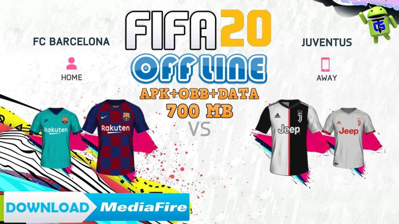 Download Update Fifa 20 Mobile Android Offline Fifa 2020 New Kits Season 2020 Hd Graphics Soccer Game For Android A Fifa Best Android Games Android Tutorials