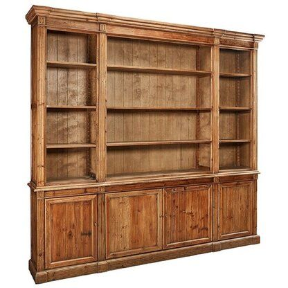 Luxury Wide (over 50 in.) Bookcases & Etageres | Perigold