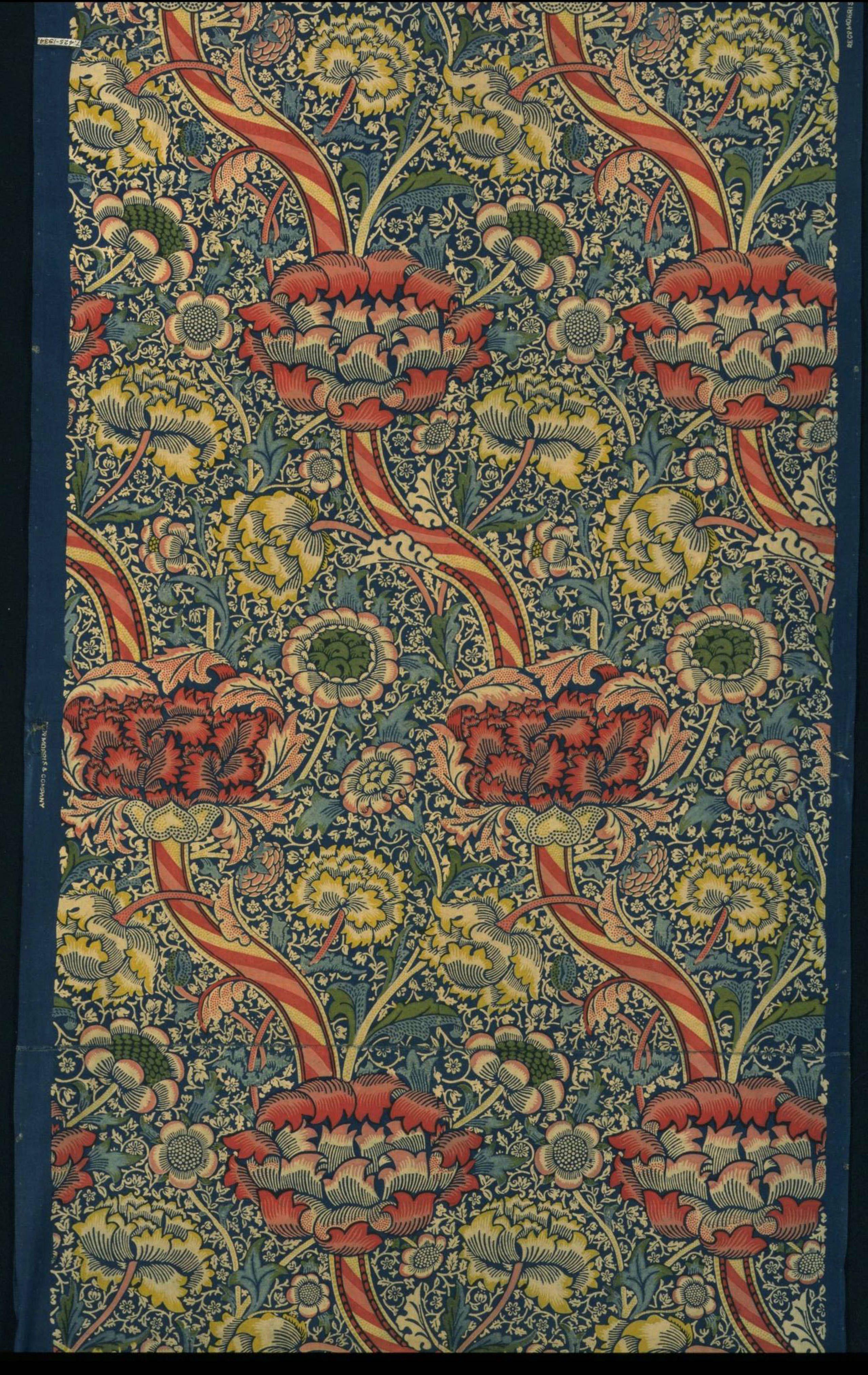 Wandle Design wandle furnishing fabric 1884 william morris walthamstow