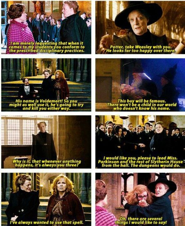professor mcgonagall quotes love her i ve always wanted to use