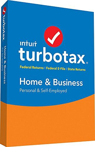 Intuit, Inc - Turbotax Home  Business 2016 Office Product - spreadsheet compare 2013 64 bit