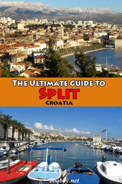 We lived in Split for over a year, it's one of our favorite cities. This Guide covers everything you need to know: things to see and do, where to stay, where to eat, along with many day trip ideas. #bbqboy #split #Croatia #travelguide #travel