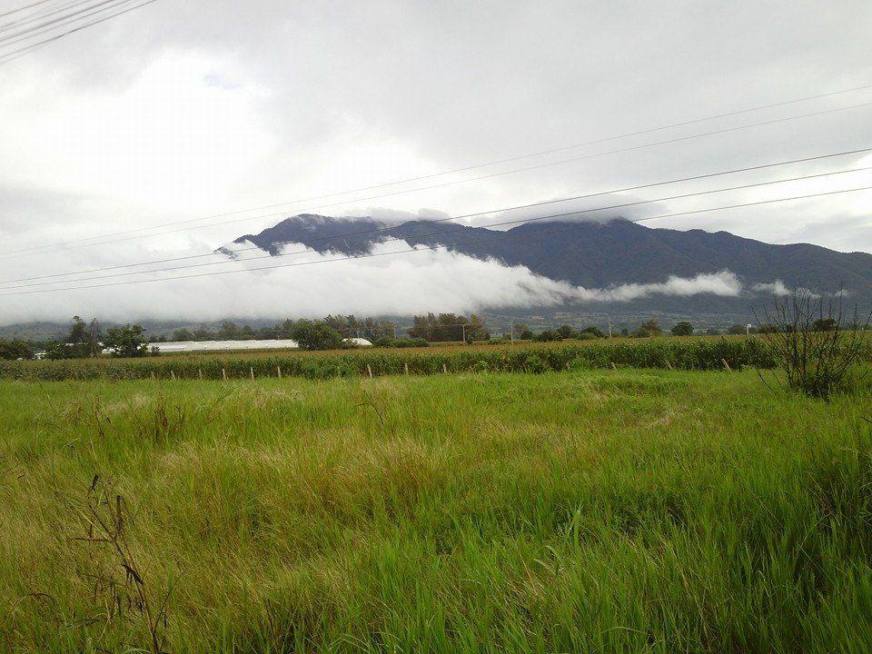 Nubes en el cerro del aguila