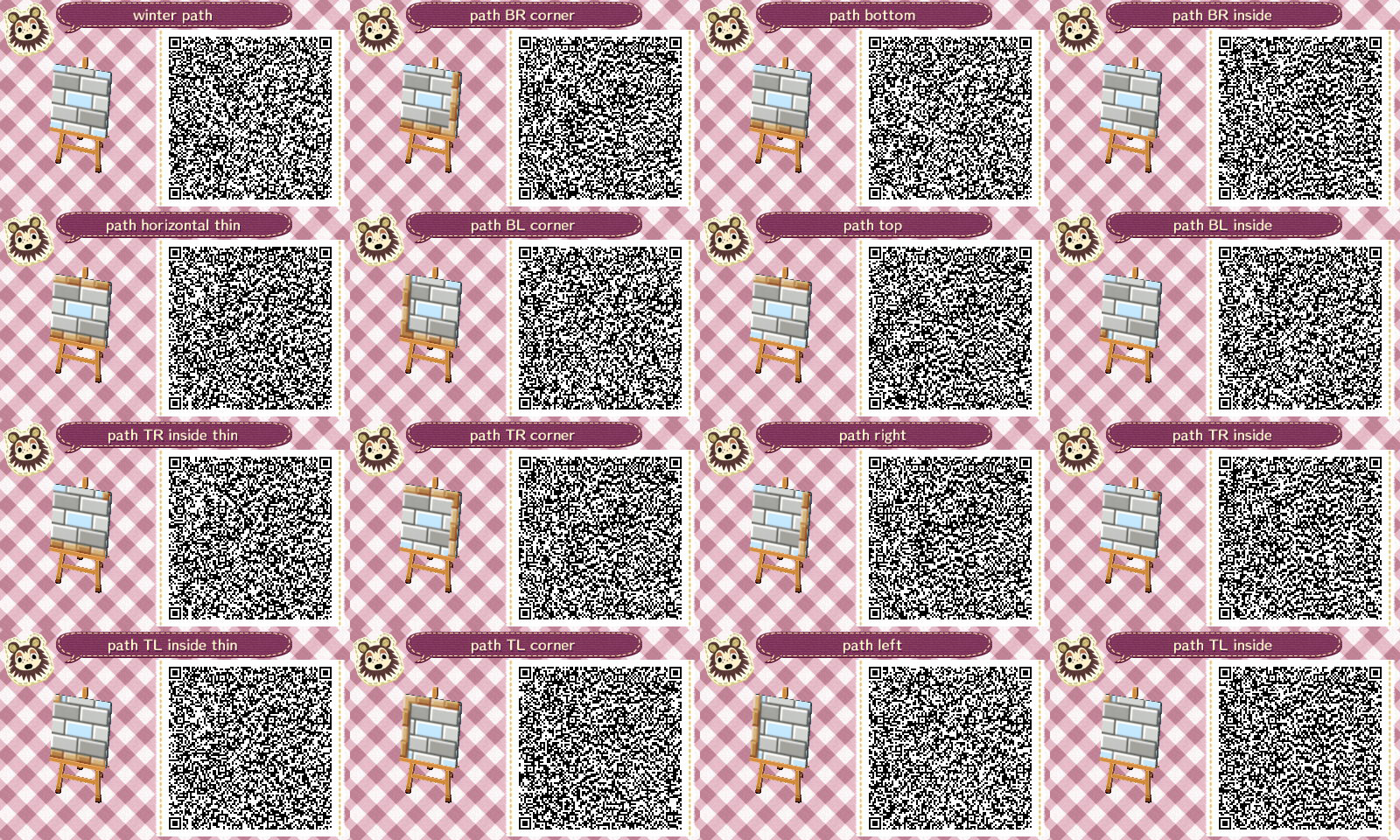 Pin By Rebecca Diane On Acnl Qr Codes Animal Crossing Qr Qr Codes Animals Qr Codes Animal Crossing