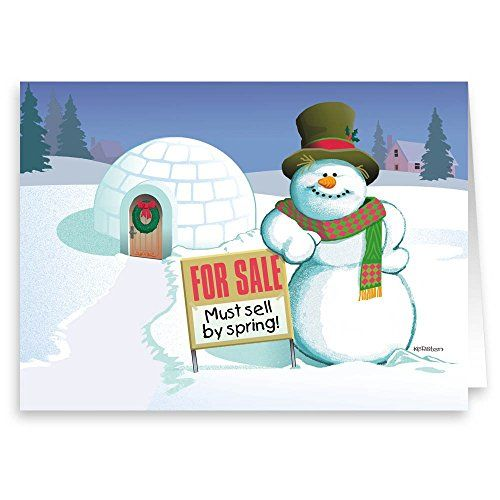 Real estate holiday card funny realty christmas card 18 cards popular christmas greetings cards for real estate holiday card funny realty christmas card cards envelopes mailacard reheart Image collections