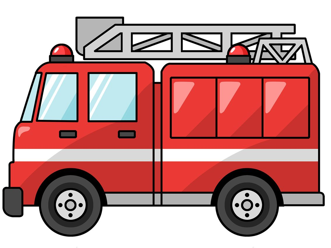 Itfaiye Arabasi Türkçe Clip Art Fire Truck Drawing Ve Fire Trucks