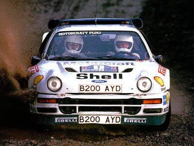 Stig Blomvist 1986 Ford Rs 200 Gr B See Our Blog On This Car On