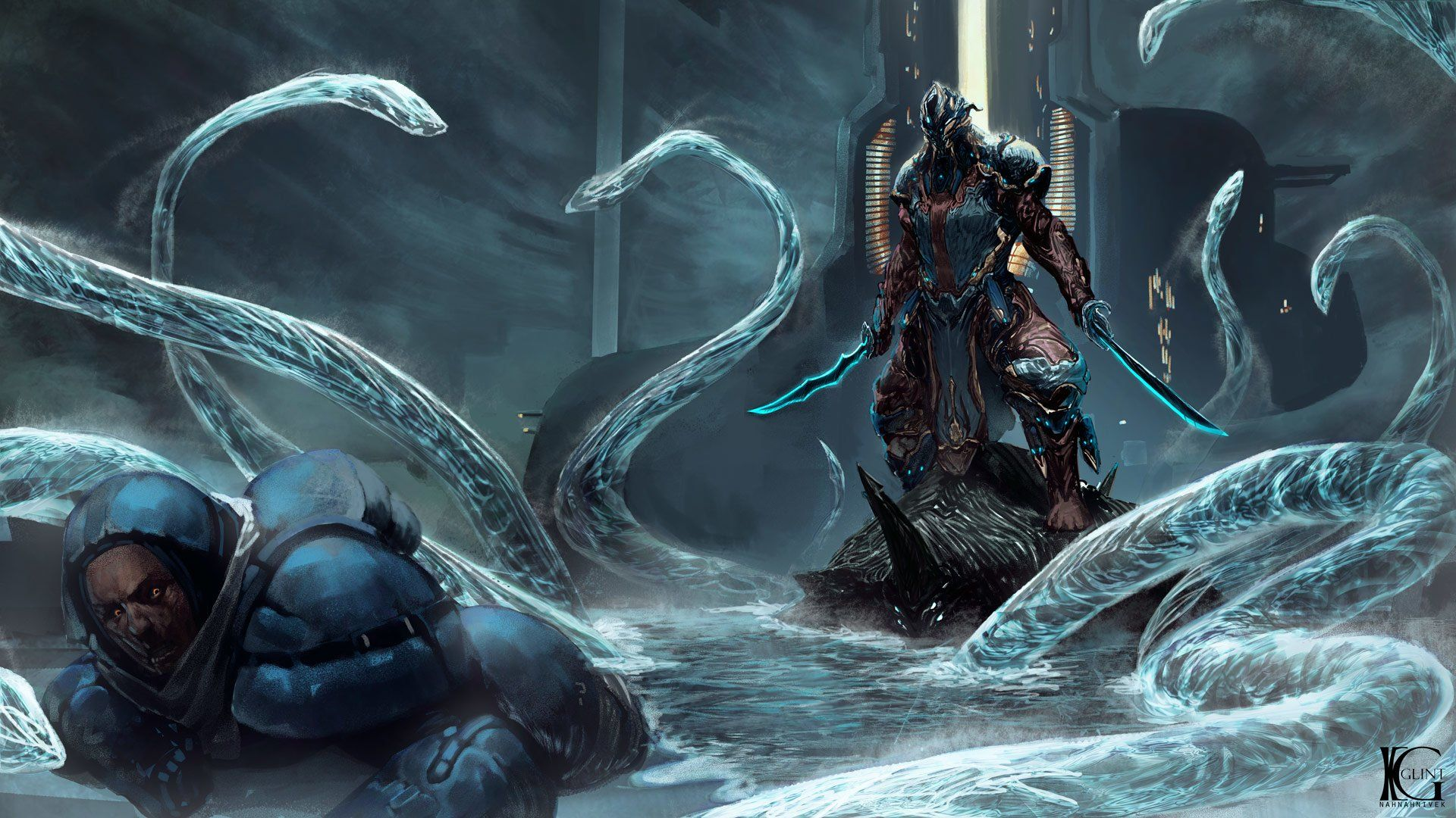 Video Game Warframe Warrior Sword Wallpaper | Warframe in