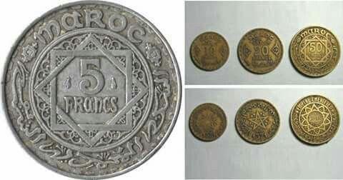 Pièces de monnaie 60\70