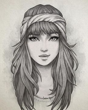 Resultado De Imagem Para Draw Faces Tumblr Hair Pinterest - Hairstyle drawing tumblr