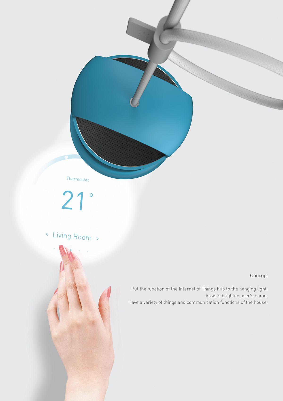 objet. on Behance Hanging lights, Interactive design, Design