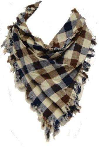 marc gold tan brown blue plaid hipster scarf scarves pinterest