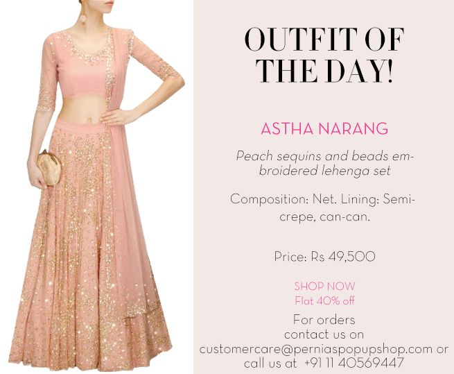 #outfitoftheday #asthanarang #ootd #indiandesigners #indianfashion #shopnow #perniaspopupshop #happyshopping
