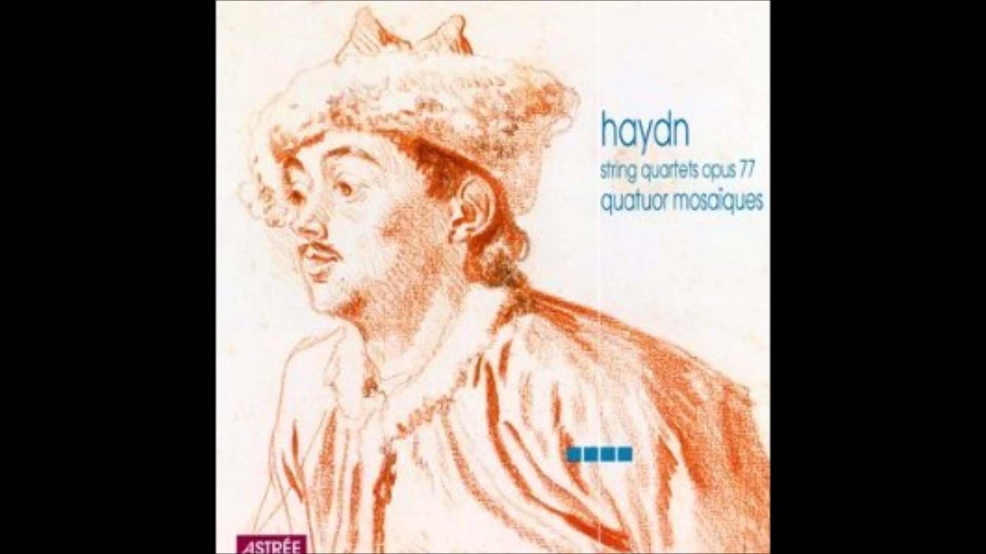 Haydn string quartets op.77