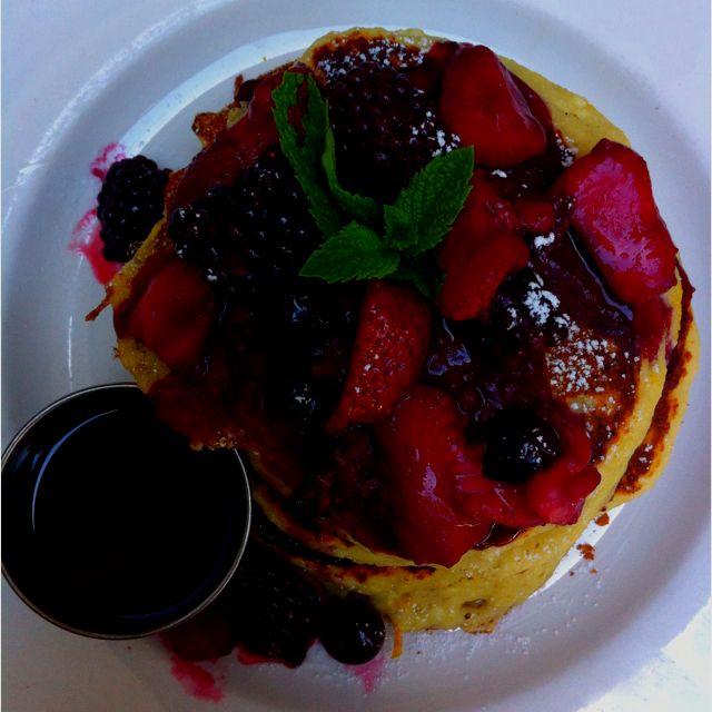Orange Ricotta Pancakes from Haute Cakes in Newport Beach, CA