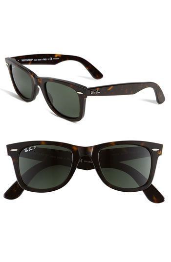 0436d92f5d Ray Ban Tortoiseshell Classic Wayfarer Remember her the biggest frames you  can bc I have a big head