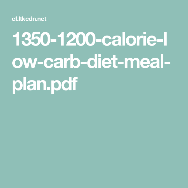 Pin on 1200 calorie diet