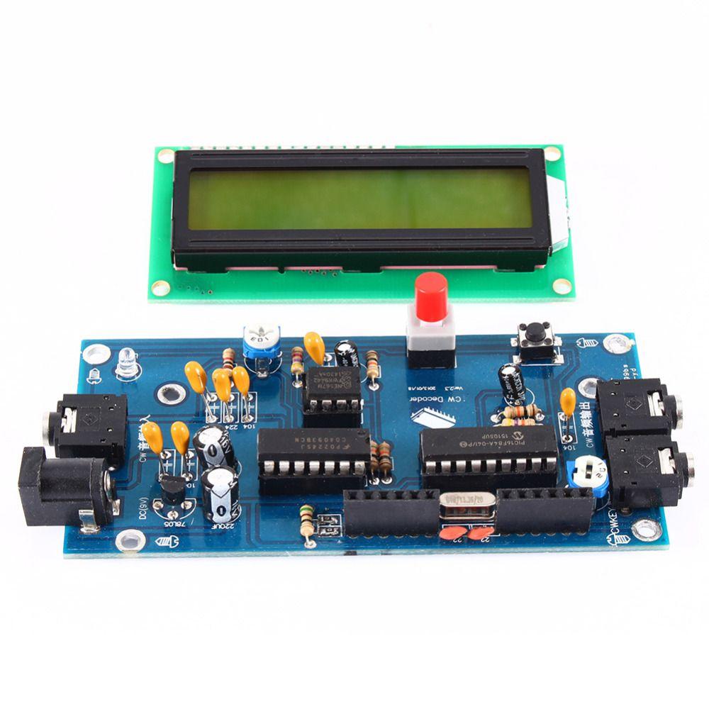 Ham Radio Essential CW Decoder Morse Code Reader Morse Code Translator Ham Radio Accessory DC7-12V/500mA with High Quality