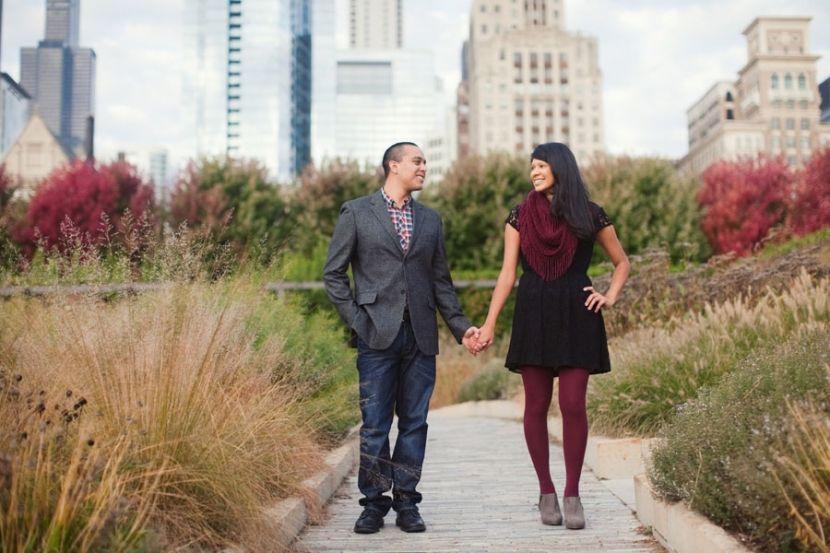 Chicago fall portraits (www.ashleybiess.com)