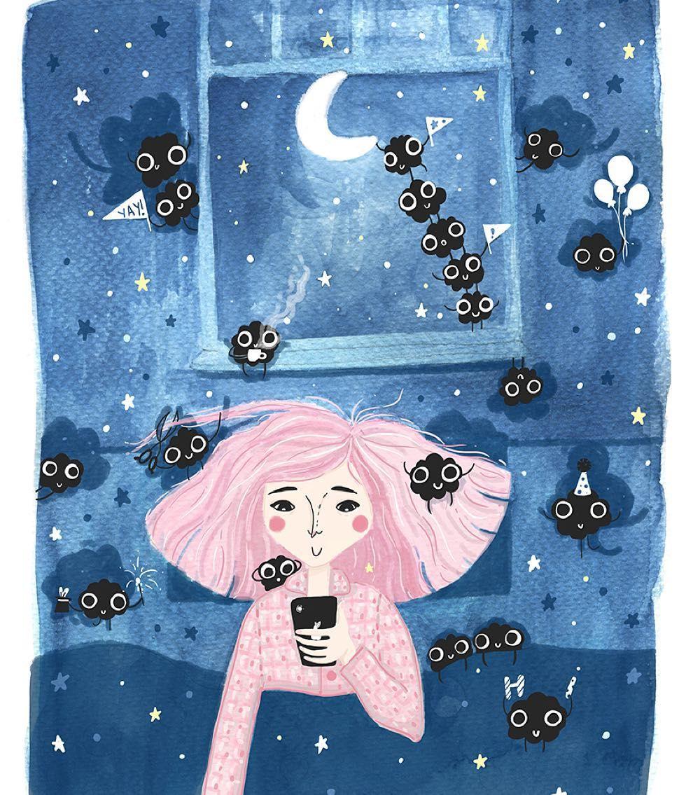 Good night Sleep Tight. Don't let the bedbugs bite print