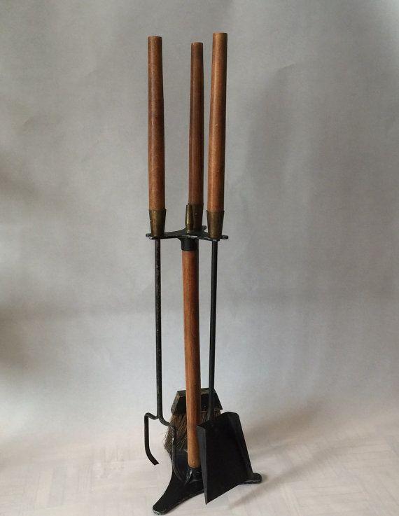 mid century seymour fireplace tool set 1960 usa cool finds rh pinterest com