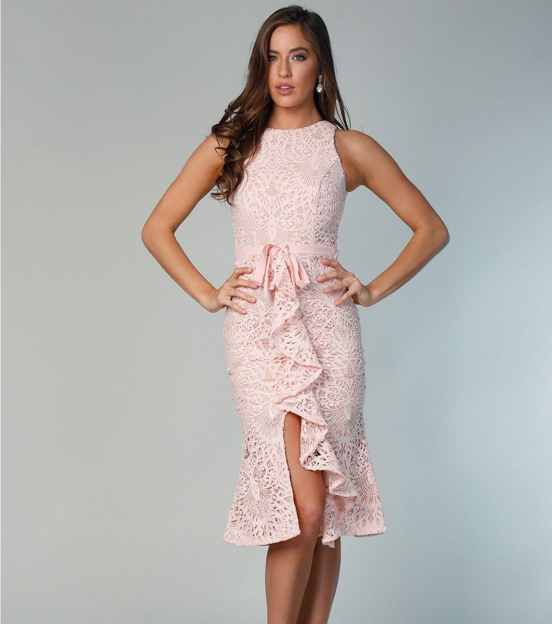 4ab662238c Sukienka Jarlo Dyani Pink w 2019