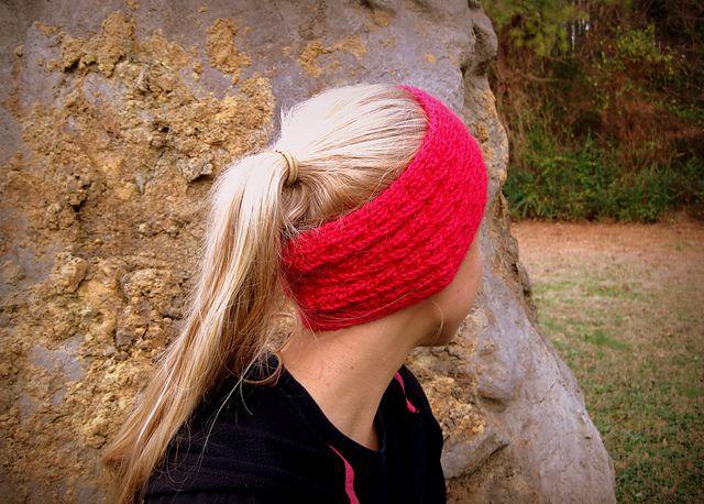 Fishtail-Cable Headwarmer | Knit headband pattern, Pattern ...