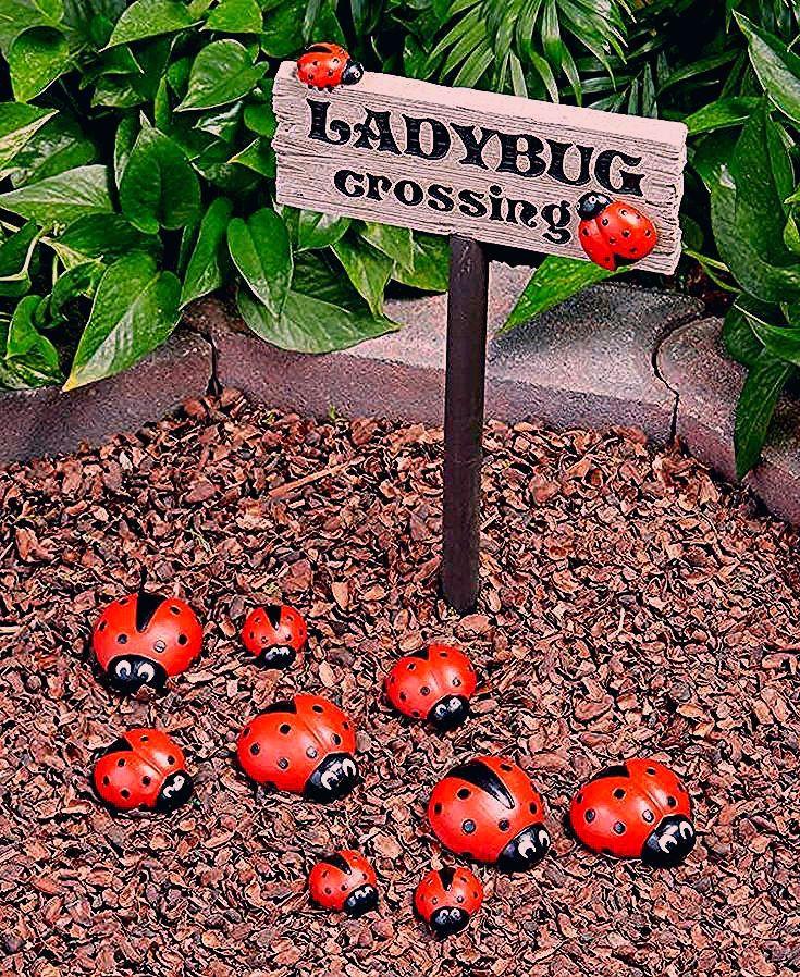 Photo of Ladybug Garden Decor
