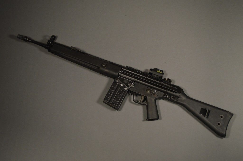 The Heckler & Koch G3 and its civilian twin, the HK91, are