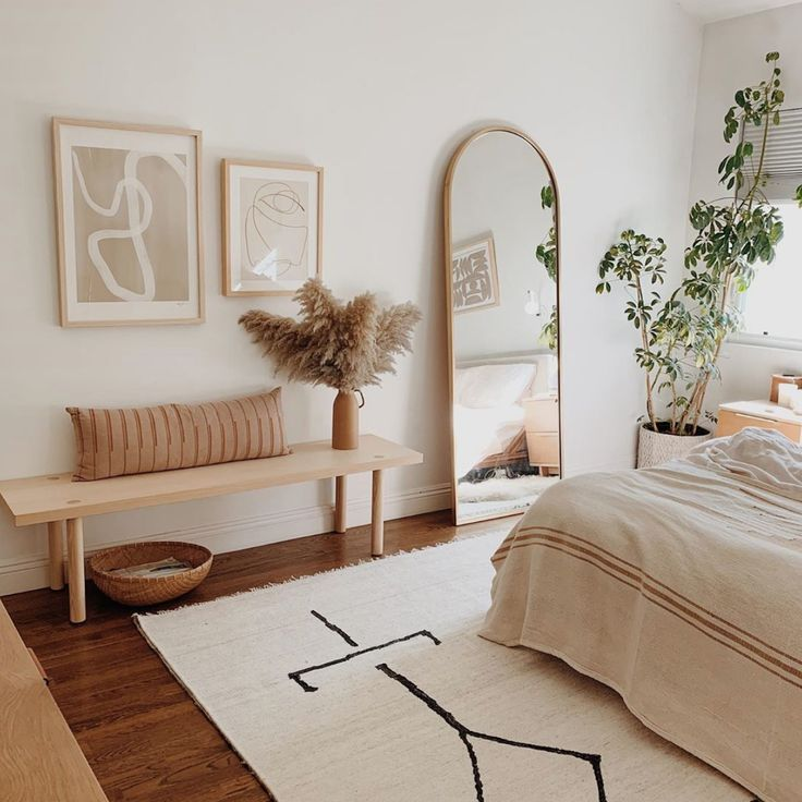 The dreamy bedroom of @almostmakesperfect #slaapkamerideeen