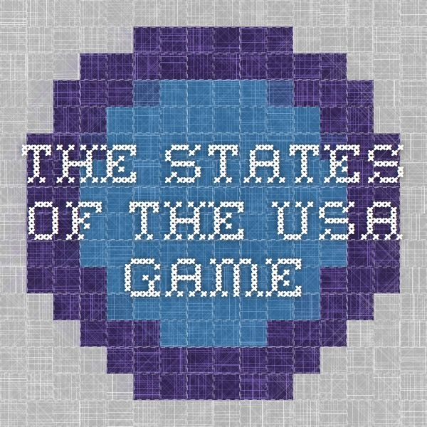 The States Of The USA Game Sonlight Core Pinterest Game - Find the us states on a blank map