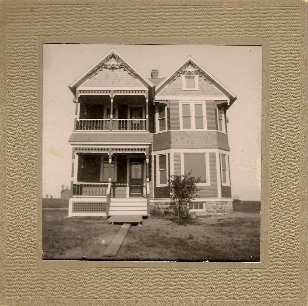 House my great grandfather Kreger built. Clear Lake, SD.