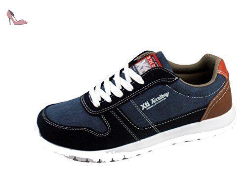 XTI , Baskets pour homme - bleu - bleu, 42 EU - Chaussures xti