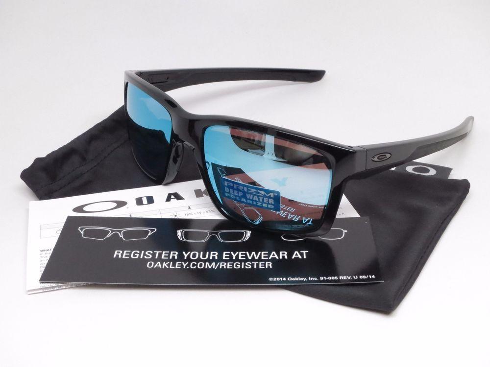 5766e795d0e Oakley Mainlink Sunglasses Product Info   Brand   Oakley Model Number    OO9264-21 Model Name   Mainlink Frame Color   Polished Black Lens Color    Prizm Deep ...