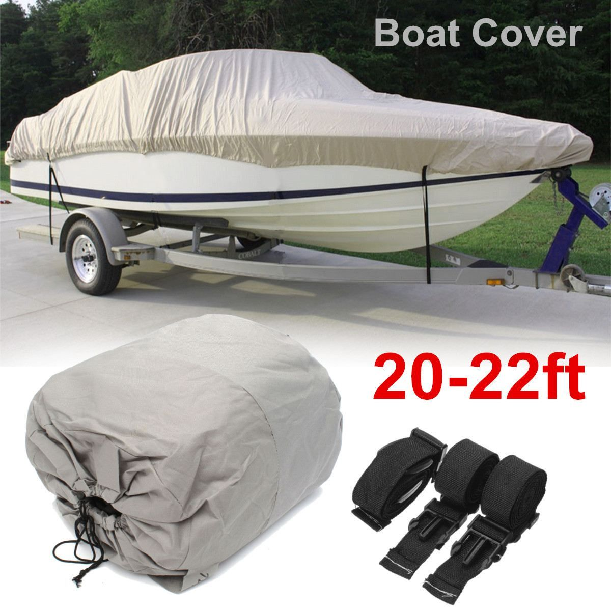 Cheap boat cover Buy Quality boat cover heavy duty directly from China heavy duty boat cover Suppliers Grey Waterproof Heavy Duty Speedboat Boat Cover ...  sc 1 st  Pinterest & 20-22ft 600D Grey Waterproof Heavy Duty Speedboat Boat Cover ...