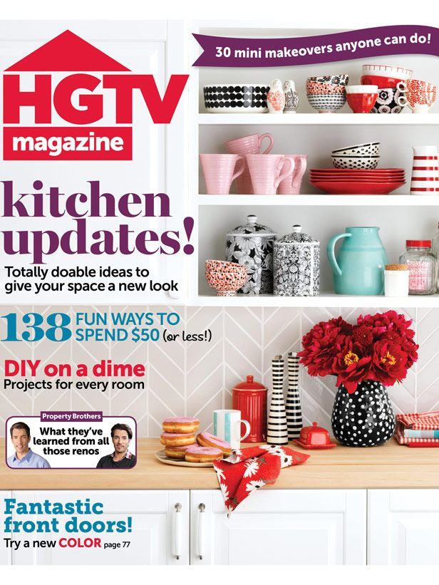 See What's Inside The September Issue Of HGTV Magazine