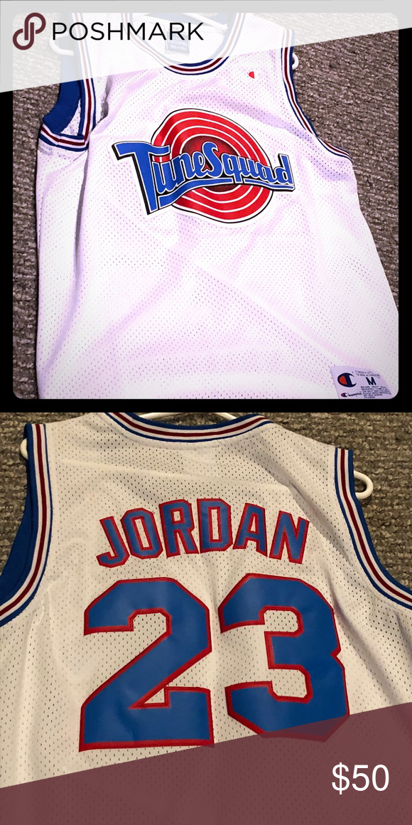 brand new 7352e 1f84e Jordan tune squad jersey 23 Like new! Champion Shirts Tank ...