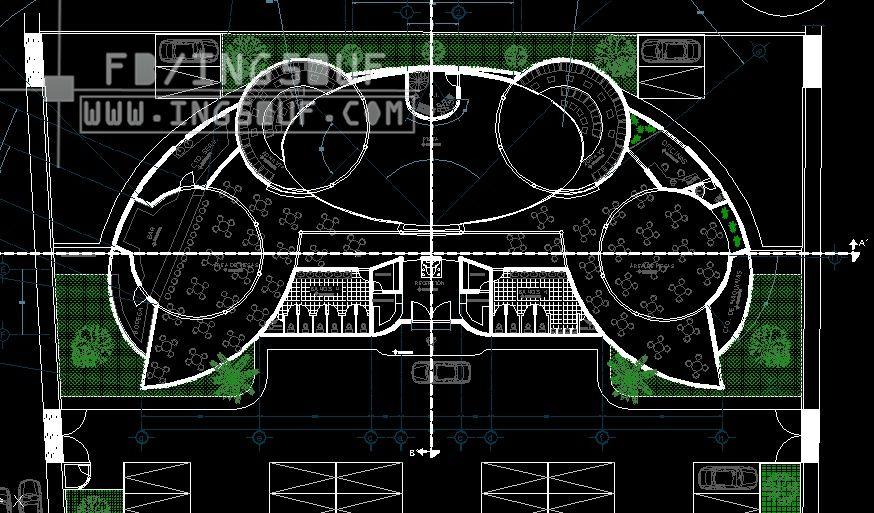 مخططات معمارية كافيتيريا بتصميم مميز كاملا اوتوكاد Dwg مخططات معمارية كافيتيريا بتصميم مميز كاملا اوتوكاد Dwg Architecture Design Autocad Drawing Autocad