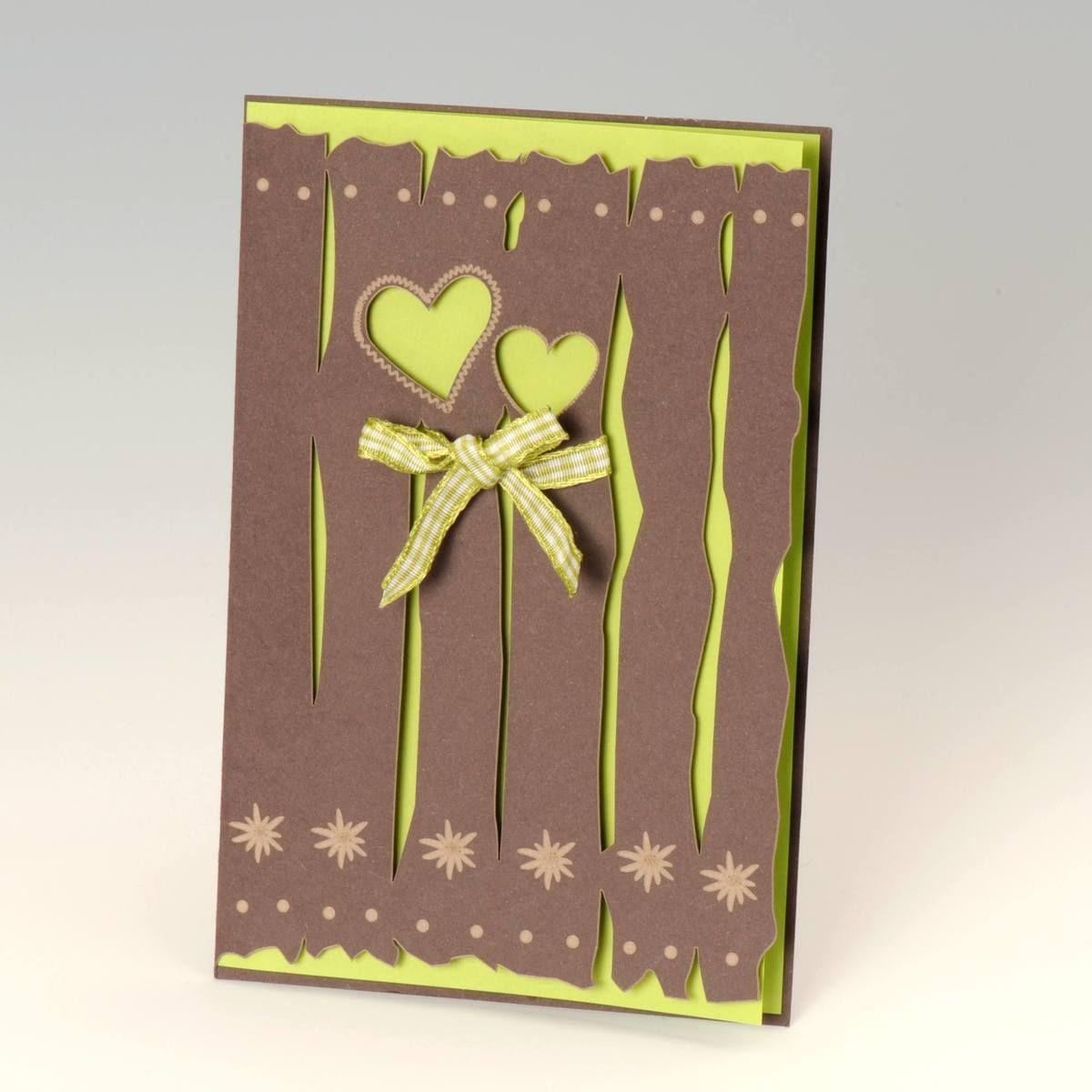 Eine urgemütliche Einladungskarte für die Hochzeit auf der ALm ... - Exklusive Einladungskarten